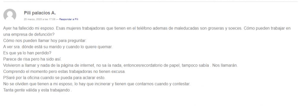 Opiniones del seguro de vida Santa Lucía
